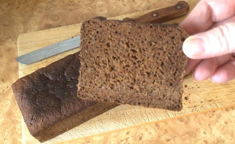 ржаной хлеб на натуральной закваске