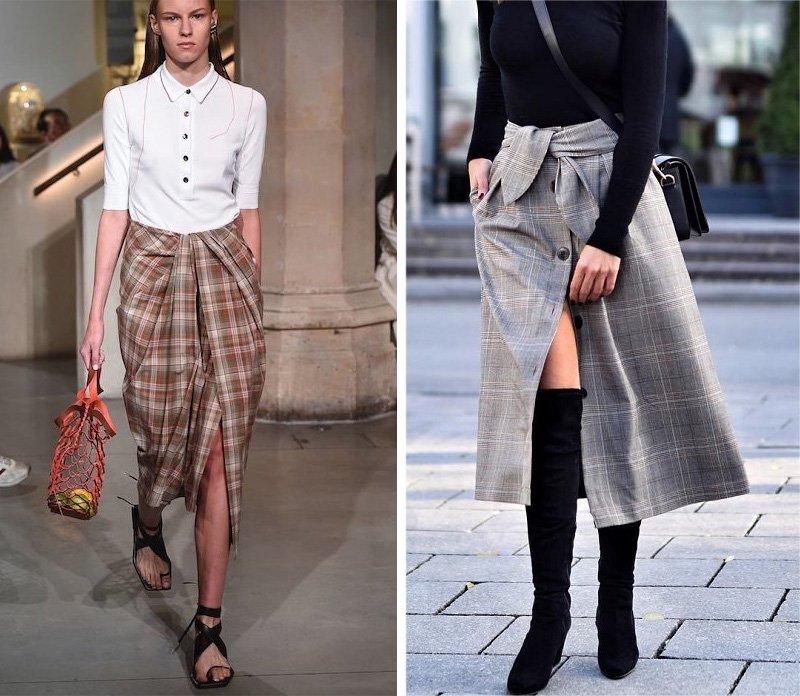 расклешенные юбки для девушек