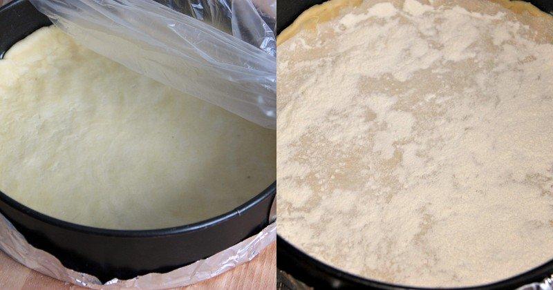 Рецепт сахарного пирога со сливками Кулинария,Выпечка,Десерты,Пироги,Сладости