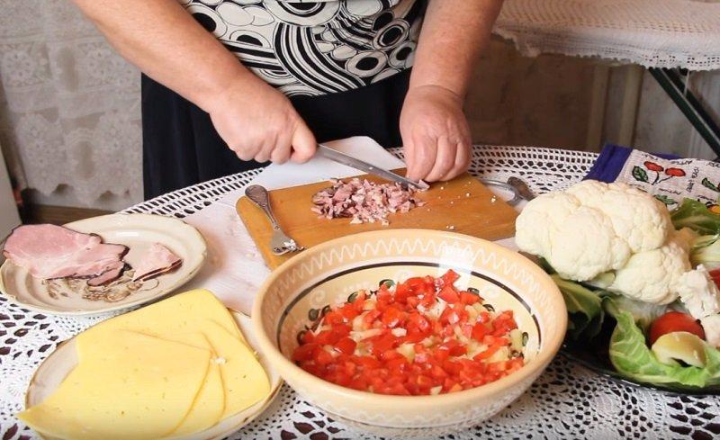 салат из цветной капусты рецепт