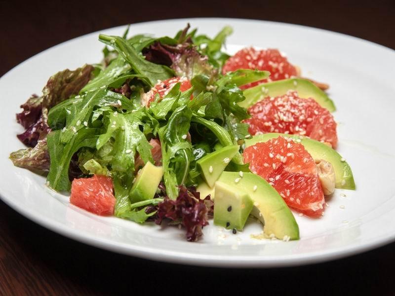 Подборка ярких и сочных фруктовых салатов Кулинария,Десерты,Салаты,Фрукты,Ягоды