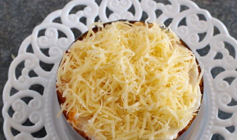 салат из вареной свеклы и картофеля