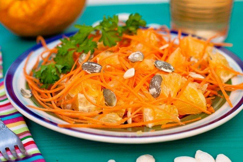 легкий салат быстрого приготовления