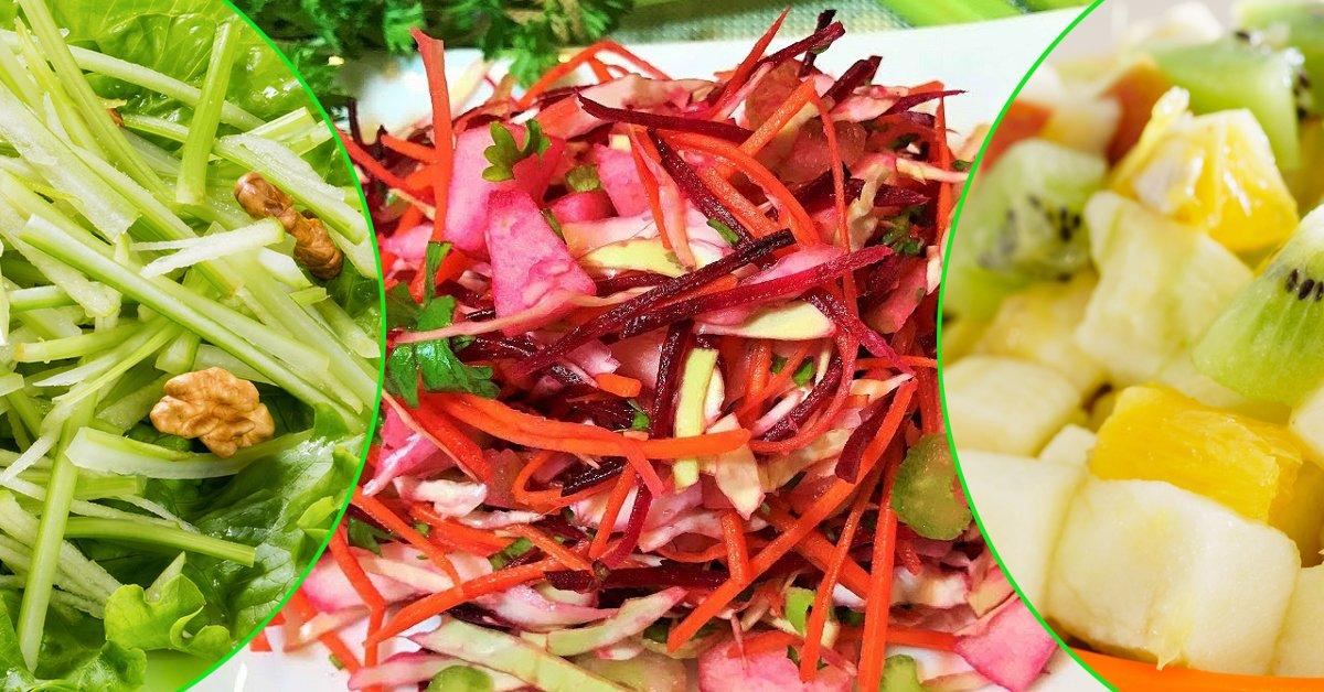 Подборка витаминных салатов для похудения thumbnail