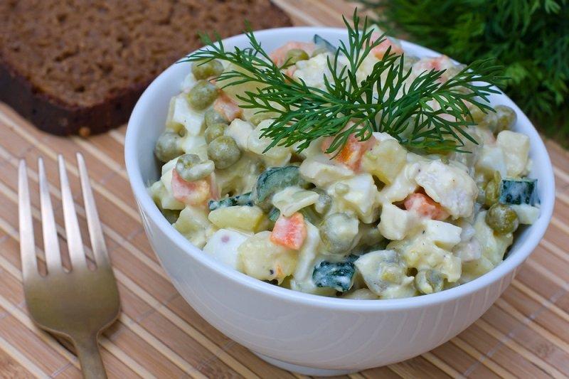 салат оливье