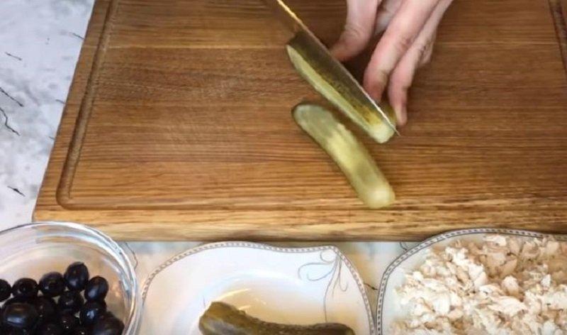 огурцы для салата на зиму