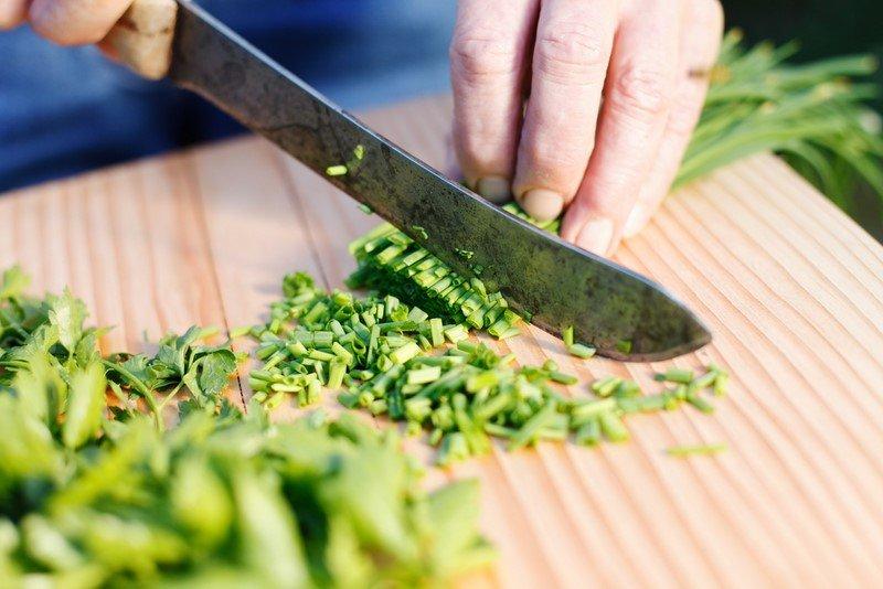 салат с луком репчатым