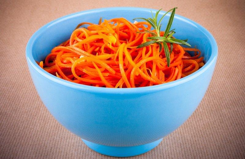 морковка по-корейски фото