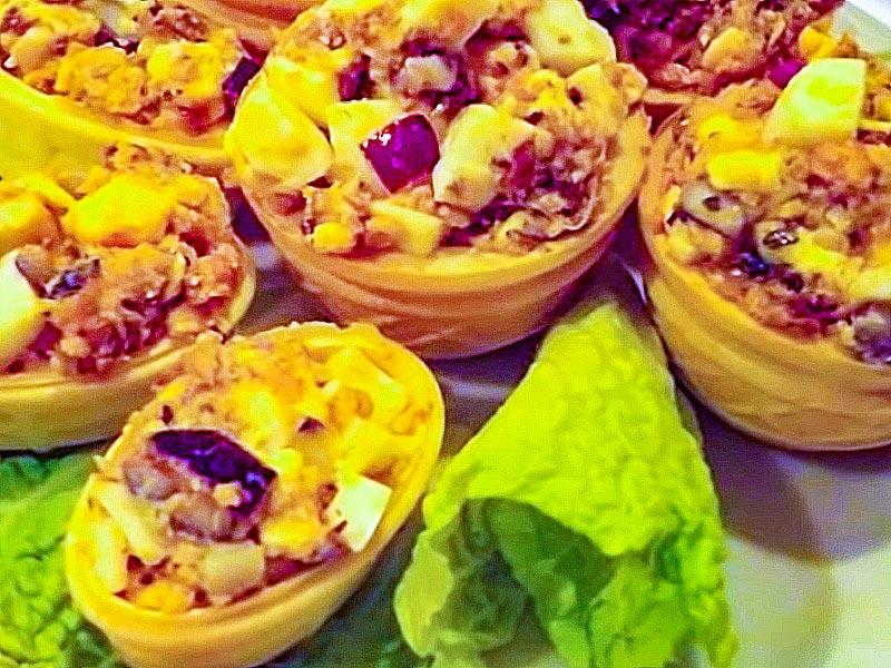 салат с сардинами быстро