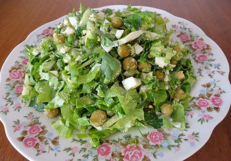 легкий и простой салат