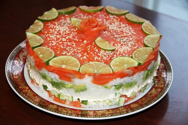 салат для суши