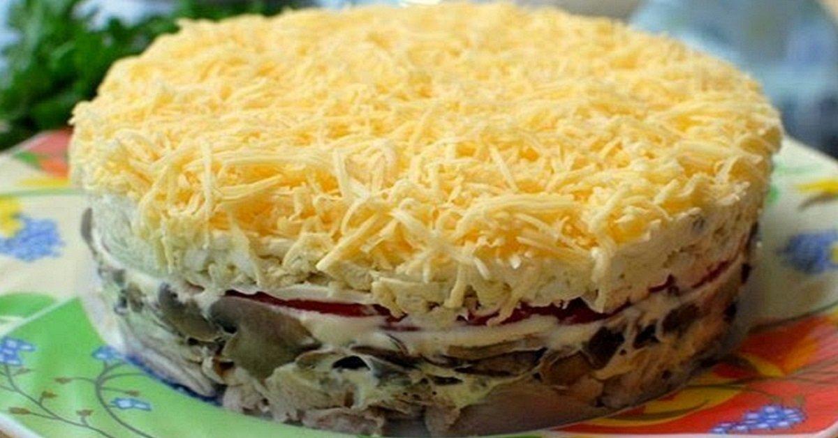 вкусный рецепт баклажаны салат