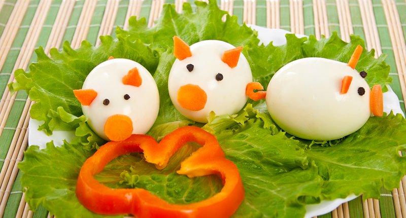 вкусный салат в виде свиньи