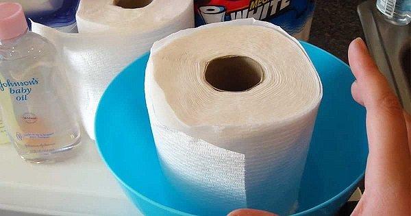 Она разрезала полотенца пополам и пропитала их этим составом. Я думал, это глупость, пока не увидел результат.