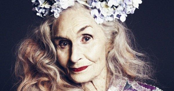 Ей уже 87, но она продолжает работать моделью. У нее есть чему поучиться!