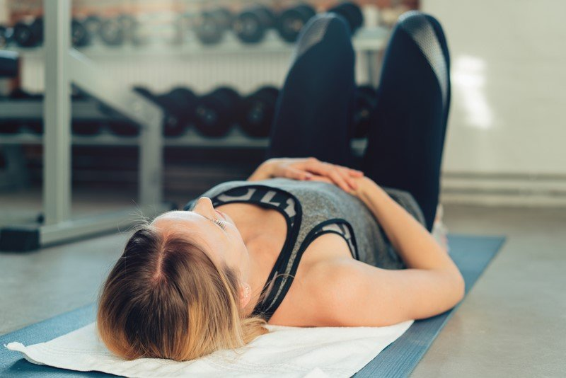 упражнение для живота и боков