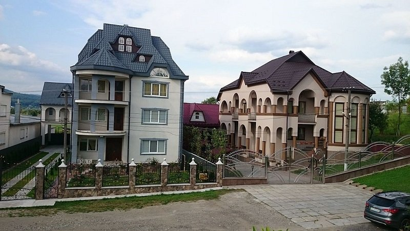 дома-замки