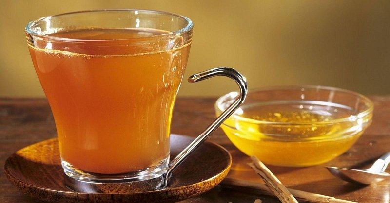 avokádový čaj
