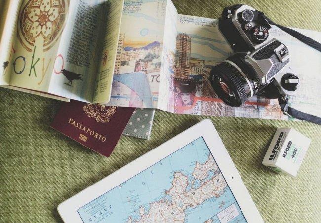 фотоаппарат и карта