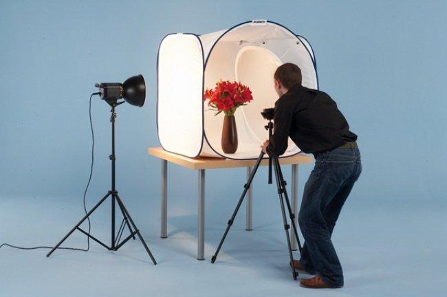 Как сделать свет для фото в домашних условиях