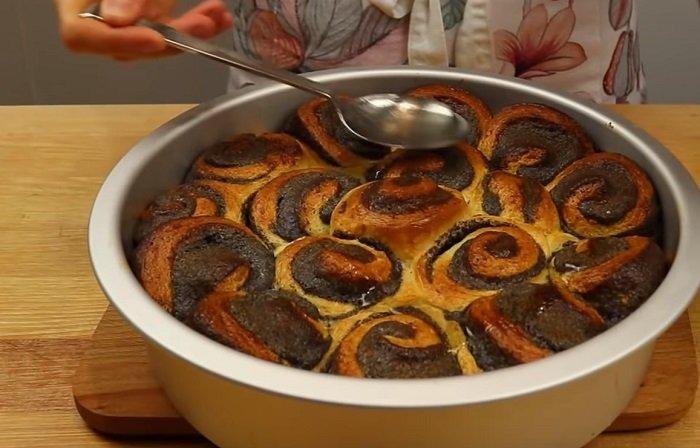 пирог с маком в духовке