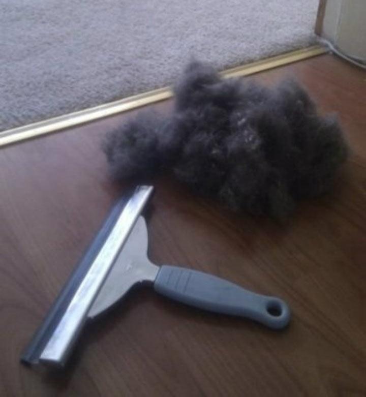 как убрать шерсть животных