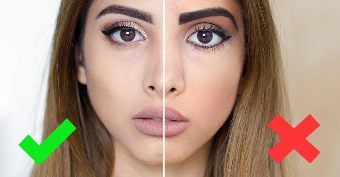 секреты макияжа до и после