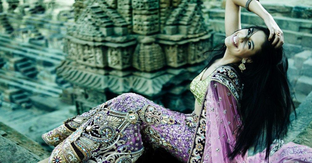 Секреты красивых волос индийских женщин. Теперь тебе не понадобятся салонные процедуры.