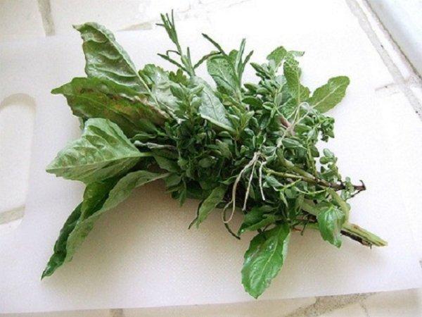 аромат трав в еде