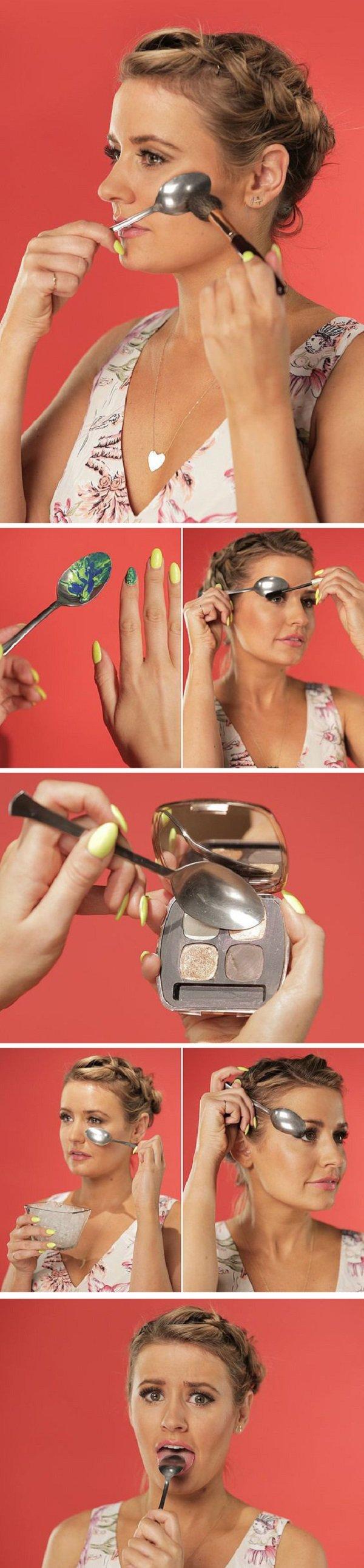 секреты макияжа коррекция лица