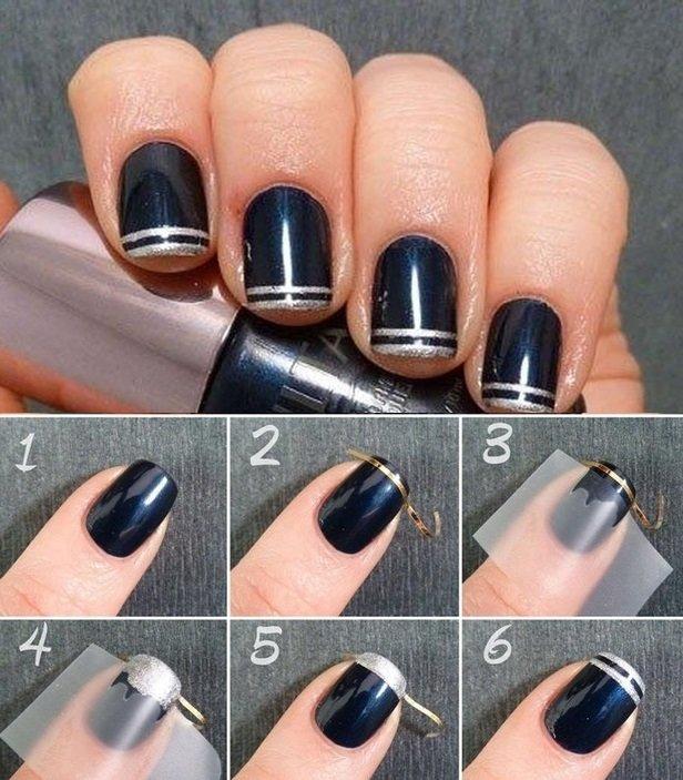 скотч-лента для ногтей