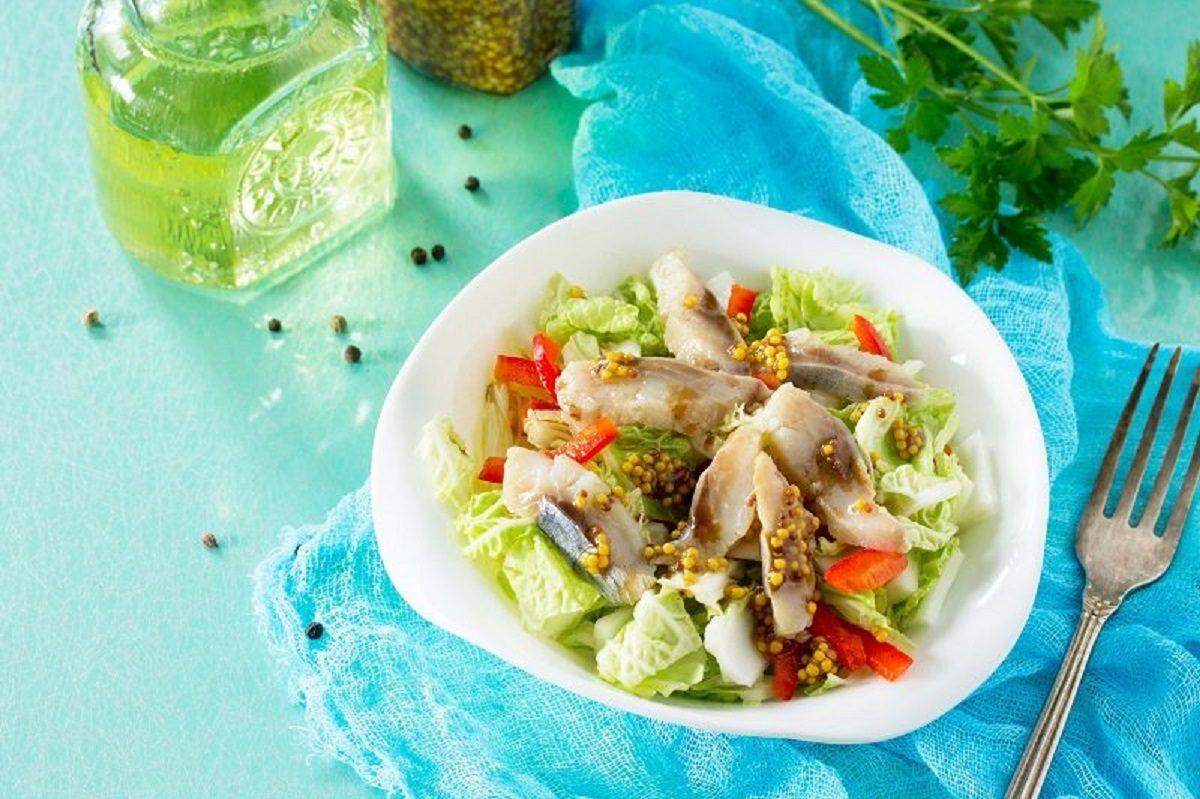 Французский салат «Бесстыдница», который хорошо заходит, когда оливье надоело