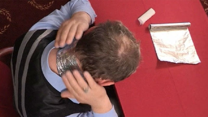 волшебное лечение алюминиевой фольгой