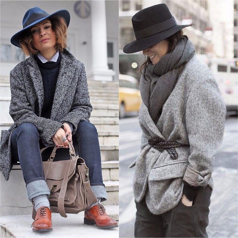 с чем носить серый