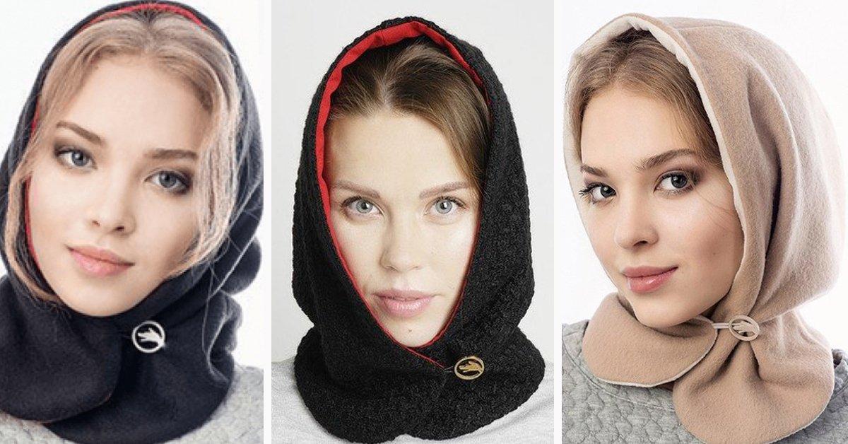 Идеально для тех, кто не любит шапки! Супермодный головной убор своими руками.