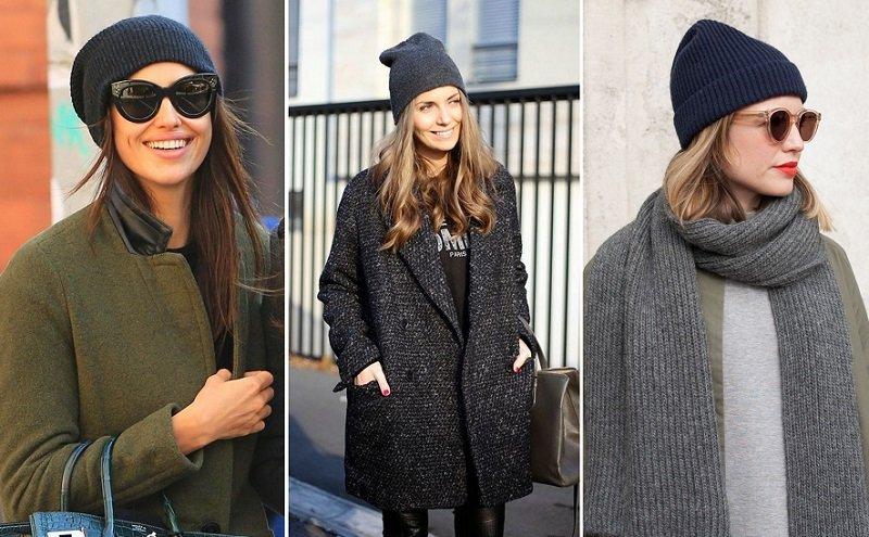 шапки для женщин за 50 лет