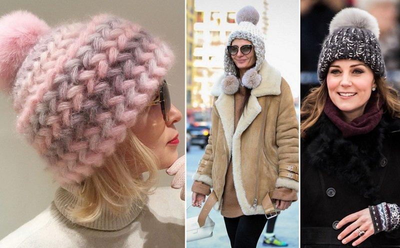 зимние шапки для женщин за 50