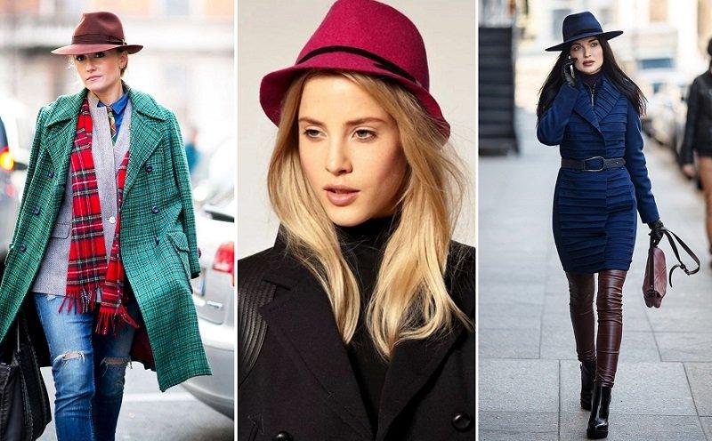 вязаные шапки для женщин за 50 лет
