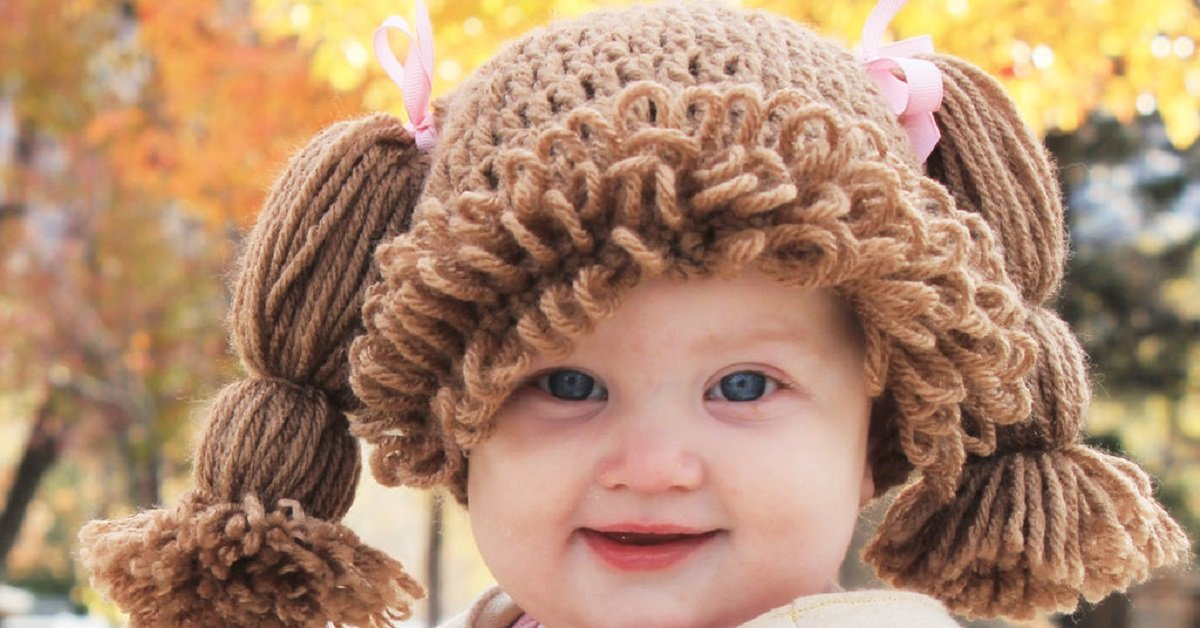 Безумно милая шапочка для малыша своими руками. Невозможно сдержать улыбку!