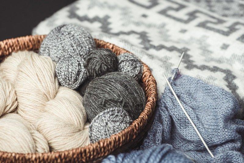 простое вязание спицами