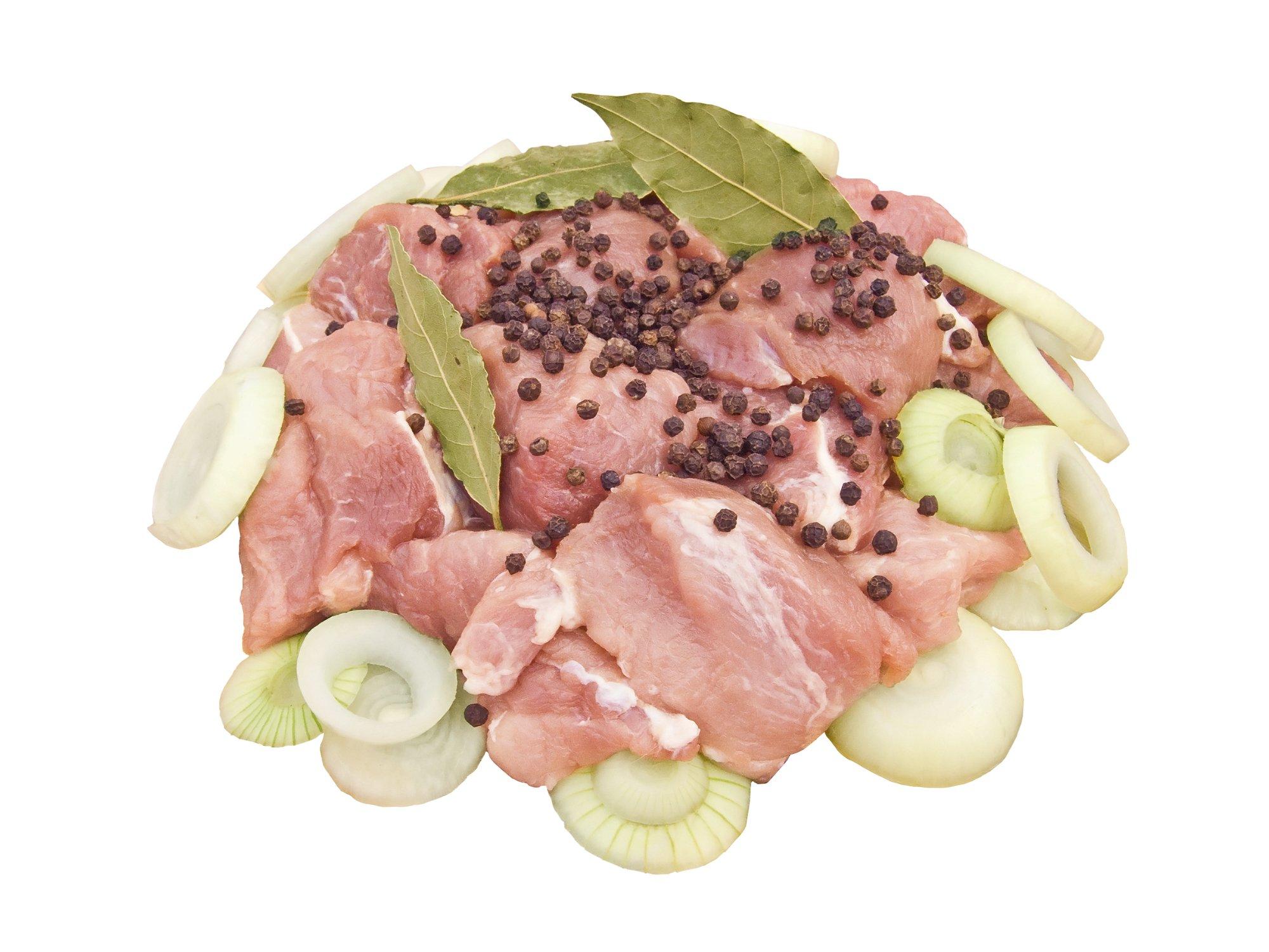 мясо со специями в духовке