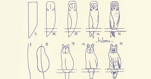 11 схем для обучения ребенка рисованию. В этом нет ничего сложного!