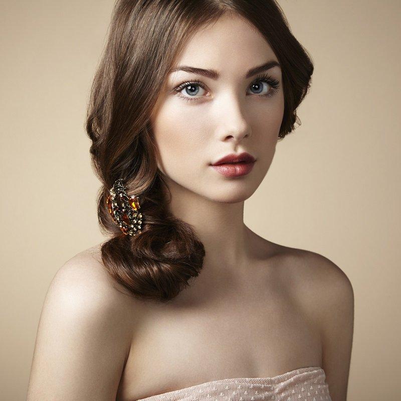 естественная красота девушек