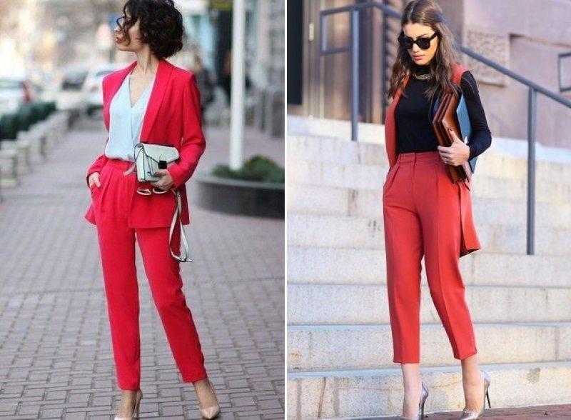 Широкие женские брюки