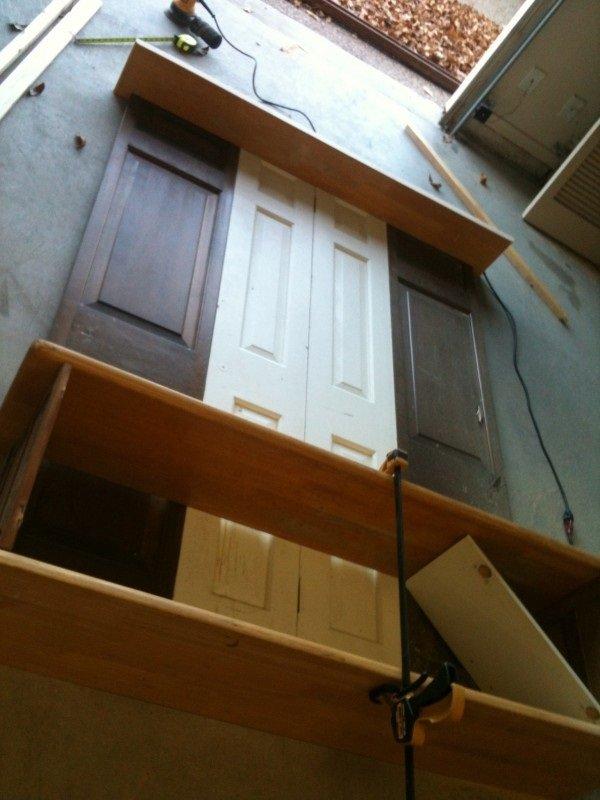 шкаф в прихожую своими руками