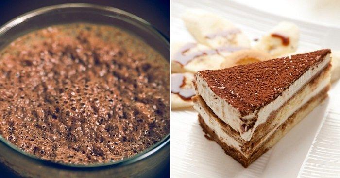 банановый торт с шоколадом и сгущенкой