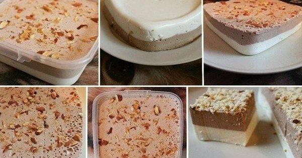 Нежнейший шоколадно-ванильный творожный десерт. Идеальное лакомство и в жару и в холод!