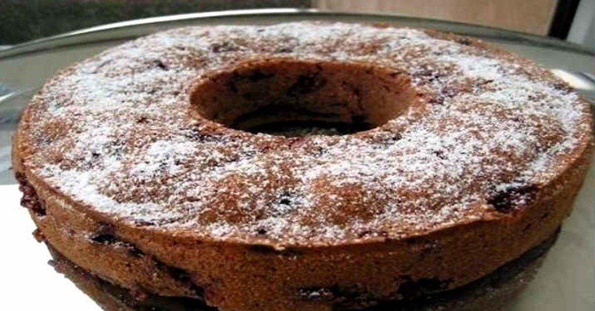 Ароматный кекс со сливой. Блюдо, в которое я влюбился раз и навсегда.