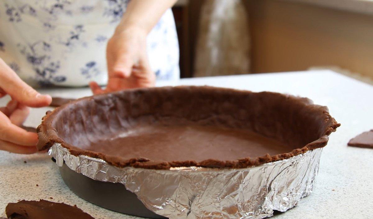 рецепт шоколадного торта с творогом