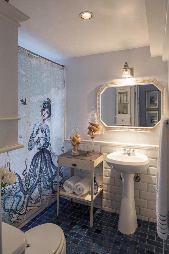 полиэтиленовые шторы для ванной